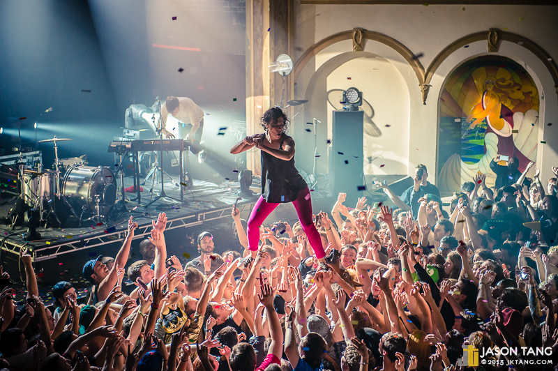 2012.10.30: Matt & Kim @ The Neptune Theatre, Seattle, WA